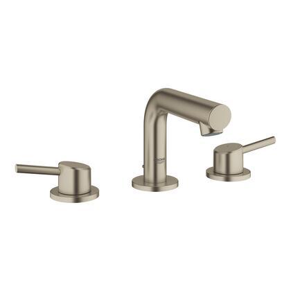 Grohe 20572EN1 Concetto Widespread Bathroom Faucet, Brushed Nickel