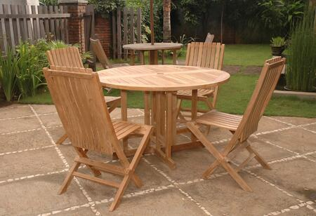 SET-34 5-Piece Dining Set with Butterfly 47