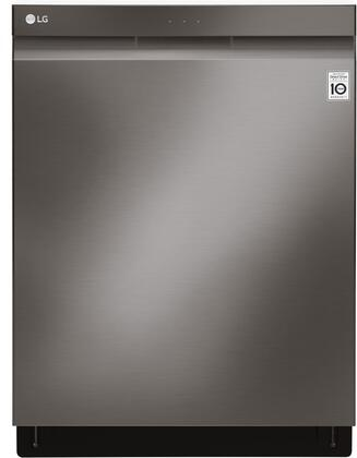 "LG 24"" Top Control Built-In Dishwasher with QuadWash and Stainless Steel Tub Black stainless steel LDP6797BD"