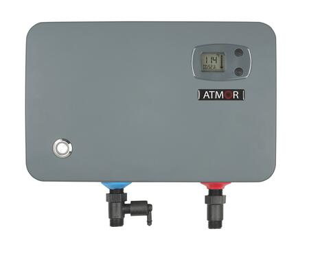 AT-905-11TB 12 inch  Digital Thermostatic Tankless Electric Water Heater with Digital Control  LEAD Free  4 AWG  2.2 GPM   and Automatically Activates  in