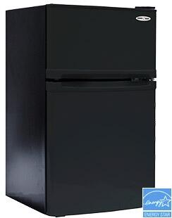 3.1SM5R Snackmate Series Freestanding Compact Refrigerator with Zero-Degree Freezer  Vegetable Crisper and Cover  CanStor Beverage Storage and Interior Light