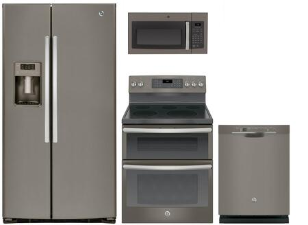 4-Piece Slate Kitchen Package with 36