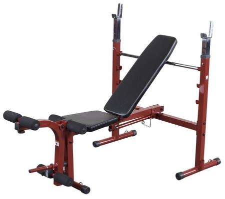 BFOB10 Best Fitness Olympic Folding Bench with Leg Developer and Space-Saving