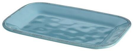 57231 8 x 12-Inch Stoneware Rectangular Platter  Agave