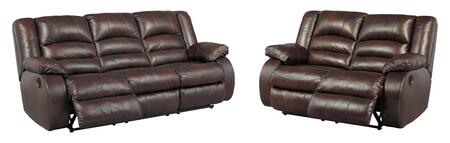 Levelland Collection 17001PRSL 2-Piece Living Room Set with Power Reclining Sofa and Loveseat Cafe