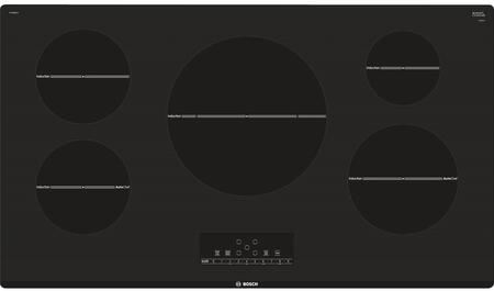 "NIT8668UC 36"" 800 Series CSA Certified Induction Cooktop with 5 Elements AutoChef Pan Sensor and Child Lock in"