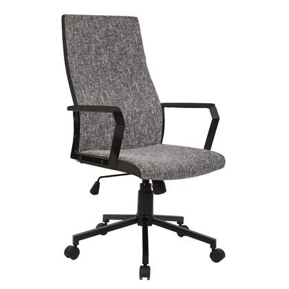 OFC-AC-CN BK+T Congress Height Adjustable Office Chair with Swivel in