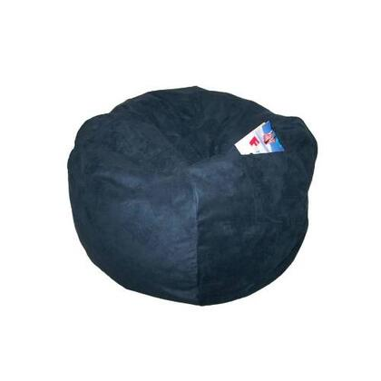 41234P Large Beanbag Navy Suede -