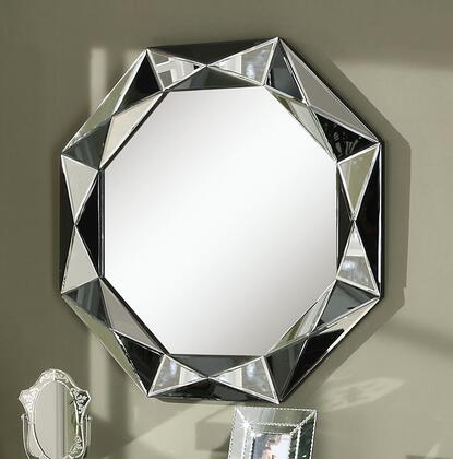Mady Collection 97102 32 inch  x 32 inch  Accent Mirror in Silver &