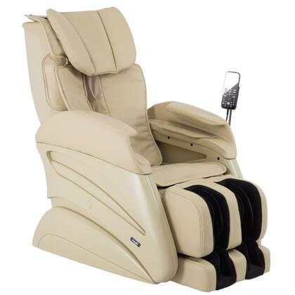 TW-Chiro BEIGE Massage Chair with 3D Body Scanning  S-Track Massage  Waist Compression  16 Auto Programs  Whole Body Stretching and Design for All Body Types