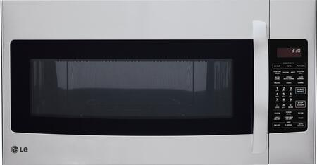 LG 1.7 Cu. Ft. Over-the-Range Convection Microwave Stainless-Steel LMVH1711ST