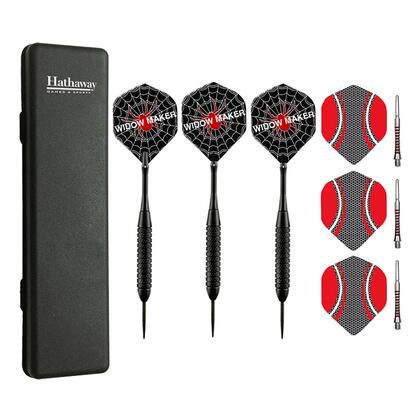 NG1055 Widow Maker Steel Tip Darts - Set Of