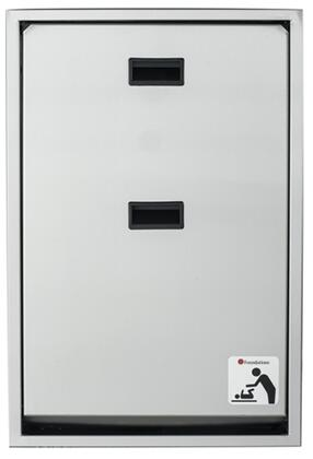 Legacy Collection 100SSV-R 34 inch  Changing Station Vertical Mount with Plastic Covered Edges  Full Stainless Steel Frame and