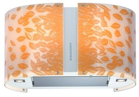 IS34MURAUTUMNLED 34 inch  Murano Autumn Series Range Hood with 940 CFM  4-Speed Electronic Controls  Delayed Shut-Off  Filter Cleaning Reminder  Internal