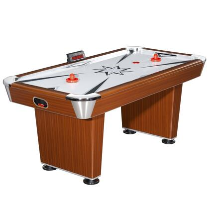 NG1037 Midtown 6' Air Hockey Table featuring an Easy to Read LED Scoring Unit and a Powered Hi-Grade Blower System for Quicker