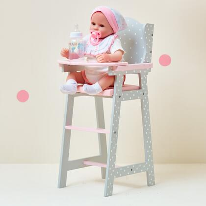 TD0098AG Baby Doll Furniture - Baby High Chair