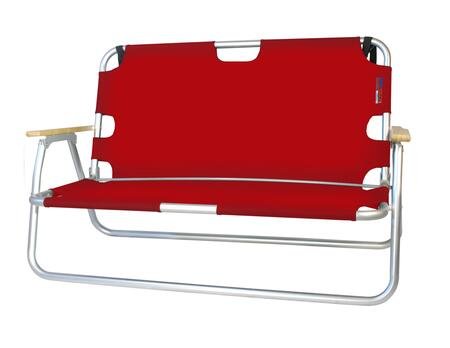 772624 44 inch  SportCouch - Two-Person Folding Aluminum Chair in