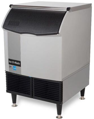ICEU150HA Self-Contained Half Cube Ice Machine with Air Condensing Unit  Integrated Storage  Superior Construction  Cuber Evaporator  Harvest Assist and