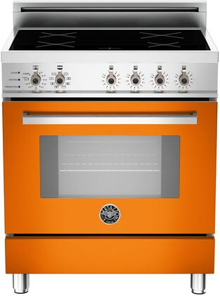 "PRO30 4 INS AR 30"" Professional Series Induction Range with 3.6 cu. ft. European Convection Oven 4 Induction Heating Zones Self-Cleaning and Telescopic"