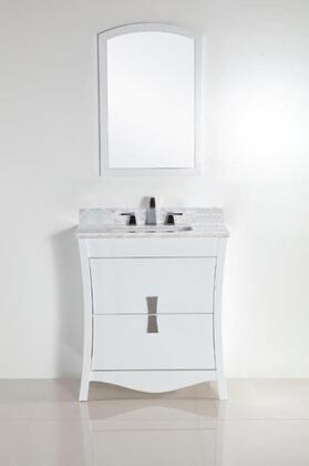 500701 Collection 50070130WCSET 2 PC Vanity Set with 30