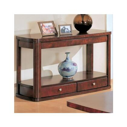 700249 Evans Contemporary Sofa Table with Storage by