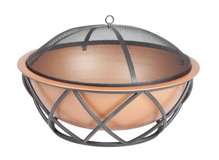 62241 Barzelonia Round Copper Look Fire