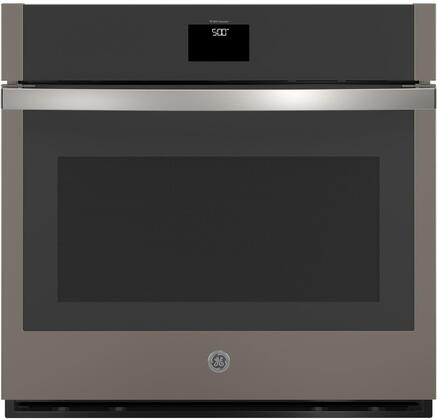 JTS5000ENES  30 Built-In Single Electric Convection Wall Oven with True European Convection  Hidden Backlit LCD Control  Precision Temperature Probe