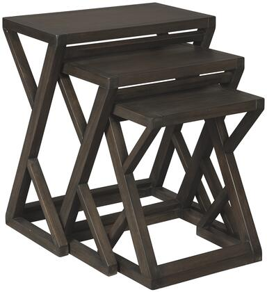 Cairnburg_Collection_A4000183_Accent_Table_Set_with_3Piece_Nesting_Table__Casual_Style__Veneers__Wood_and_Engineered_Wood_in_Brown