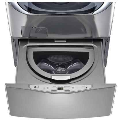 LG WD200CV 29 SideKick Pedestal Washer with 1 cu.