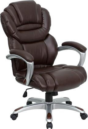 Click here for Flash Furniture GO-901-BN-GG High Back Brown Leath... prices