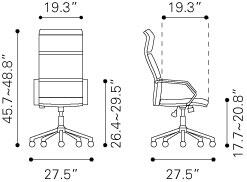 205312 Lider Pro Office Chair