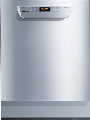 """PG8061-240V 24"""" Professional Dishwasher with 10 Wash Programs  240 Volts  Water Softener  and Hot Water Connection  in Stainless"""