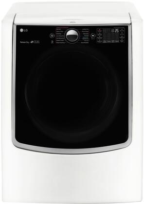 "DLEX9000W 29"""" Energy Star Front Load Electric Dryer with 9 cu. ft. Capacity  TurboSteam Technology  Integrated Electronic Panel and 14 Programs/13 Options  in"" 635386"