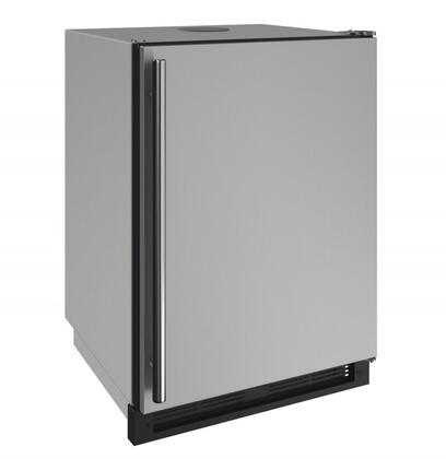 U1224KEGRSOD00A 24 inch  1000 Series Outdoor Keg Refrigerator with 5.6 cu. ft. Capacity  Convection Cooling System  Stainless Steel Cabinet  and 2 Wire Shelves  in