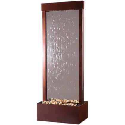 GF4WG Gardenfall Series 4' Dark Copper With Clear Glass Surface & Dark Copper