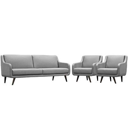 EEI-2445-LGR-SET Verve Living Room Set Set of 3  in Light