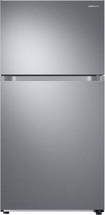 """RT21M6215SR 33"""" Energy Star Certified Top Mount Freezer Refrigerator with Auto Ice Maker  21.1 cu. ft. Total Capacity  FlexZone  Twin Cooling Plus  and"""