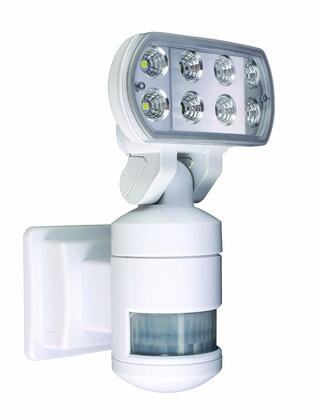 VSLNWP502 Nightwatcher Pro 8 LED Security Motion Track Light with Motorized Lamp Head in