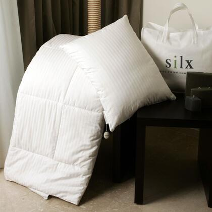 -COM-KNG Silk-filled Comforter with Cotton Cover - King size  by