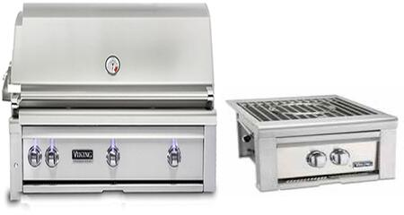 2-Piece Stainless Steel Outdoor Kitchen Package with VQGI5420NSS 42