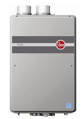 RTGH95DVN Indoor Direct Vent Tankless Natural Gas Water Heater with Self-diagnostic System and Digital
