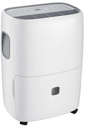 DEA70E Dehumidifier with Timer  Digital Display  3 Fan Speeds  Auto Defrost  Auto Restart  Child Lock  Continuous Mode  Bucket Full and Clean Filter Indicators