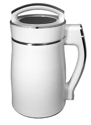 SS-222 Automatic Stainless Steel Soymilk Maker with Heat Protection and Vortex Grinding
