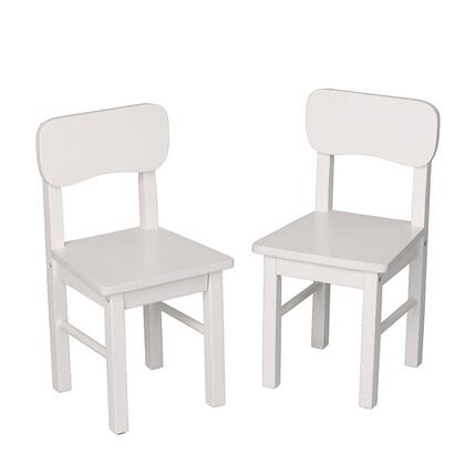 1409W Pair Of Solid and Durable Round Back Chairs in
