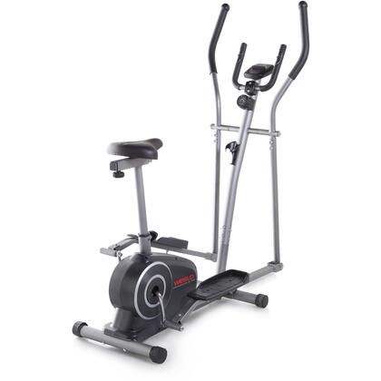 WLEL32115 Momentum G 3.2 Hybrid Trainer with Dual-Grip EKG Heart Rate Monitor  8 Workout Apps  Adjustable Manual Intensity  Functions as