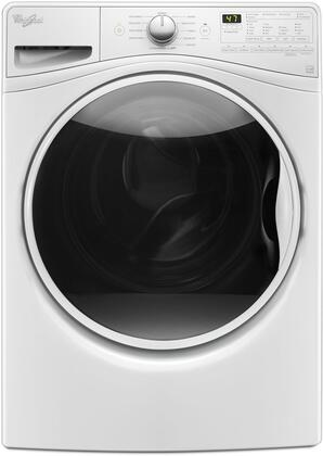 """WFW85HEFW 27"""""""" Front Load Washer with 4.5 cu. ft. Capacity  TumbleFresh Option  ColorLast Cycle  PreSoak Option  EcoBoost Option  Steam Clean and Adaptive Wash"""" 713307"""