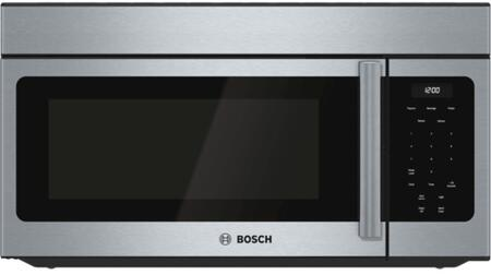 Bosch HMV3053U 300 Series 30 Inch Over the Range 1.6 cu. ft. Capacity Microwave Oven