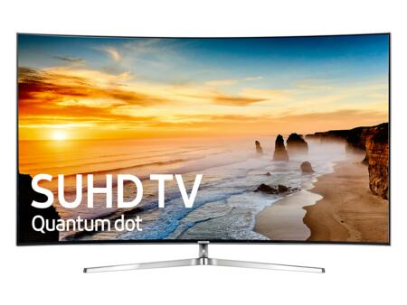"UN78KS9800FXZA 78"" Class KS9800 9-Series Curved 4K SUHD TV (2016 Model) with Quantum Dot Color  Supreme MR 240  New Smart Hub  and HDR 1000:"