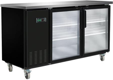 MXBB70G Freezer with 14.5 cu. ft.  Recessed Sliding Door Handle  Aluminum Interior  White Exterior  Light  Temperature Display  Front Facing Drainage  Front