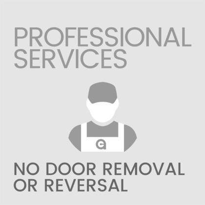 No Door Removal or